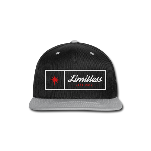Limitless - Men's Premium - Snap-back Baseball Cap