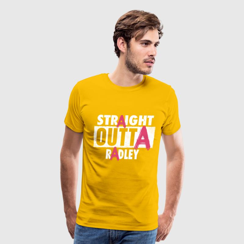 liar straight outta radley - Men's Premium T-Shirt