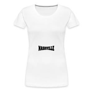 Nashville Hat - Women's Premium T-Shirt