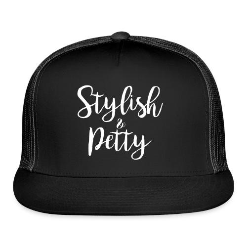 Stylish & Petty Tote - Trucker Cap
