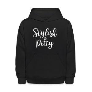 Stylish & Petty Tote - Kids' Hoodie