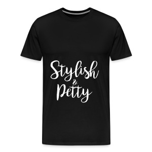Stylish & Petty Tote - Men's Premium T-Shirt