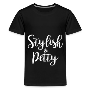 Stylish & Petty Tote - Kids' Premium T-Shirt