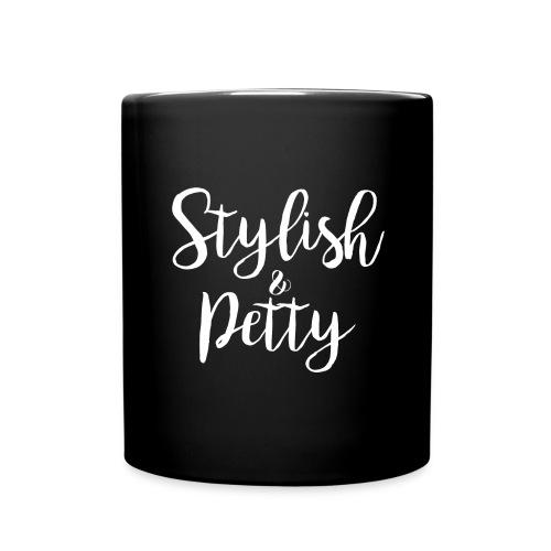 Stylish & Petty Tote - Full Color Mug
