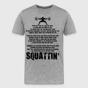 Squat Poem T-Shirts - Men's Premium T-Shirt