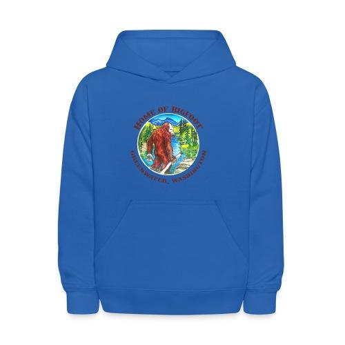 Home of Bigfoot Kid's T-Shirt - Kids' Hoodie
