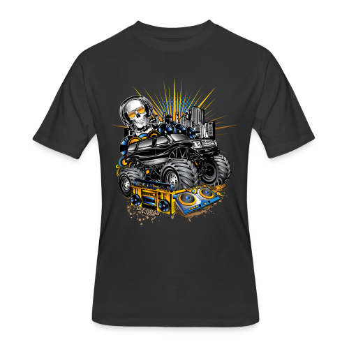Monster Cadillac Escalade - Men's 50/50 T-Shirt