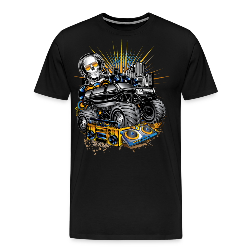 Monster Cadillac Escalade - Men's Premium T-Shirt