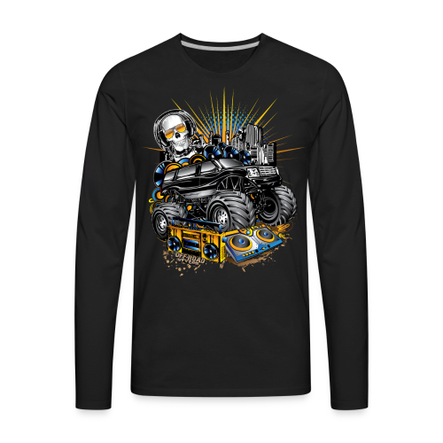 Monster Cadillac Escalade - Men's Premium Long Sleeve T-Shirt