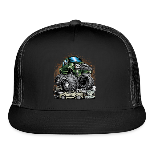 Tacoma Monster Truck Green - Trucker Cap
