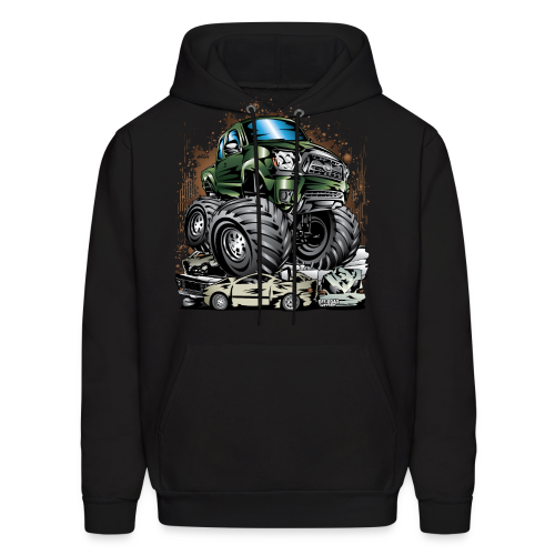 Tacoma Monster Truck Green - Men's Hoodie
