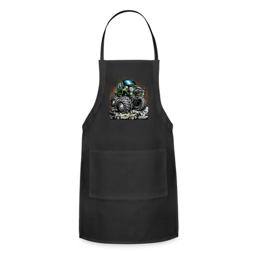 Tacoma Monster Truck Green - Adjustable Apron