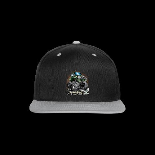 Tacoma Monster Truck Green - Snap-back Baseball Cap
