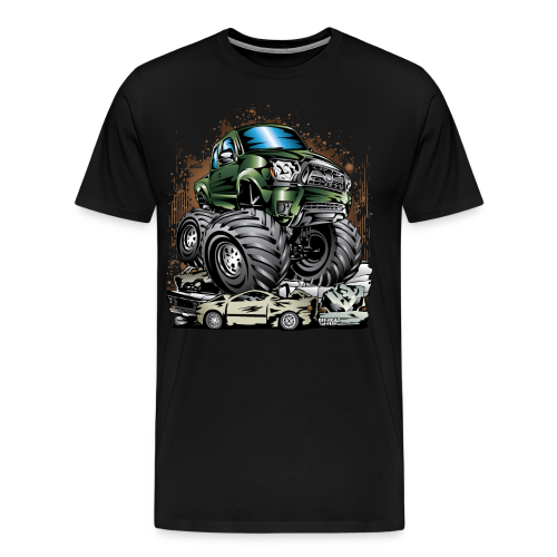 Tacoma Monster Truck Green - Men's Premium T-Shirt