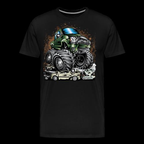 Tacoma Monster Truck Green - Men's Premium T-Shirt