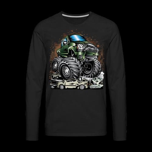 Tacoma Monster Truck Green - Men's Premium Long Sleeve T-Shirt