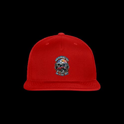 4th of july mud trucks - Snap-back Baseball Cap