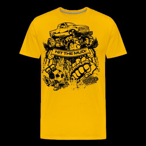 Off-Road Mud Truck - Men's Premium T-Shirt