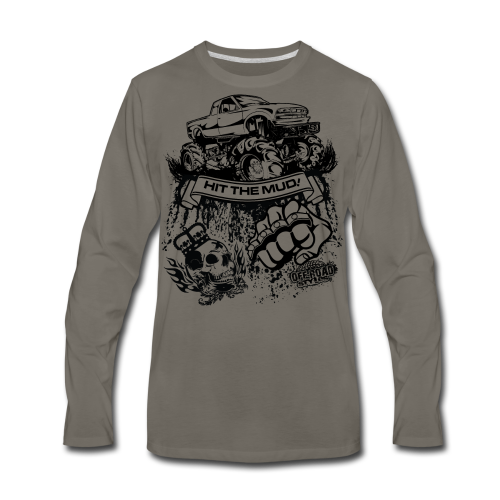 Off-Road Mud Truck - Men's Premium Long Sleeve T-Shirt