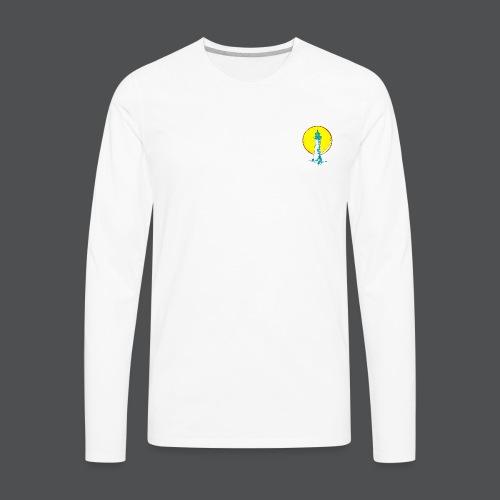 Men's Lighthouse lV - Men's Premium Long Sleeve T-Shirt