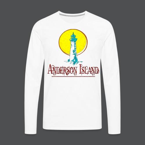 Men's Lighthouse l - Men's Premium Long Sleeve T-Shirt