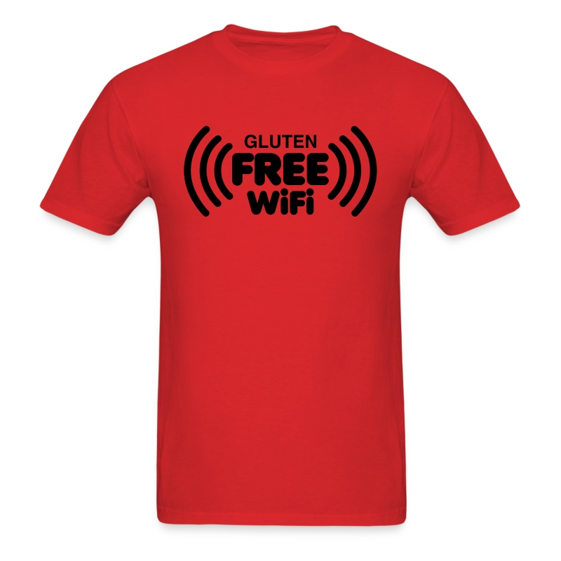 Gluten Free Wifi - Men's T-Shirt