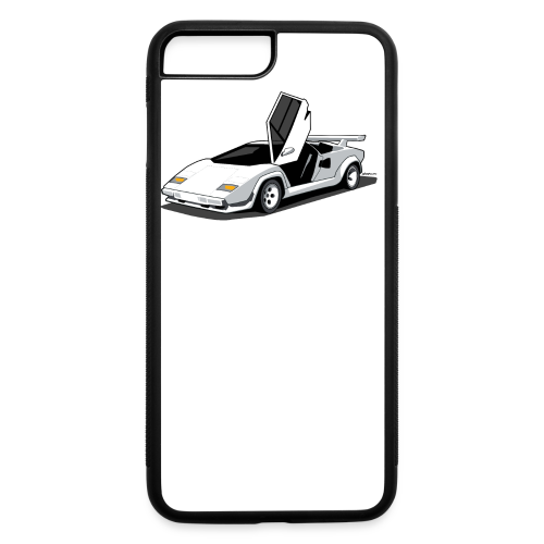 Lamborghini Countach - iPhone 7 Plus/8 Plus Rubber Case