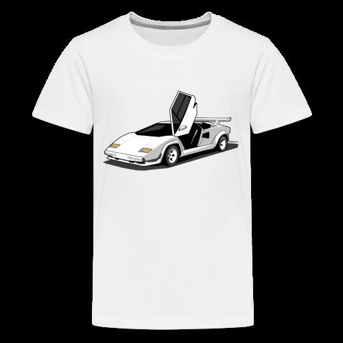 Lamborghini Countach - Kids' Premium T-Shirt