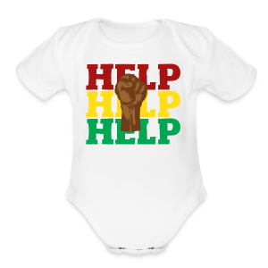 BLM-H2K - Short Sleeve Baby Bodysuit