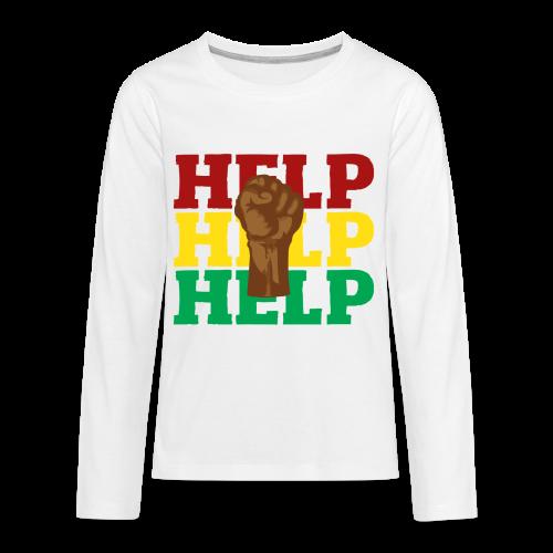 BLM-H2K - Kids' Premium Long Sleeve T-Shirt