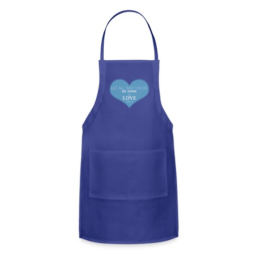 Blue Love T-Shirts - Adjustable Apron