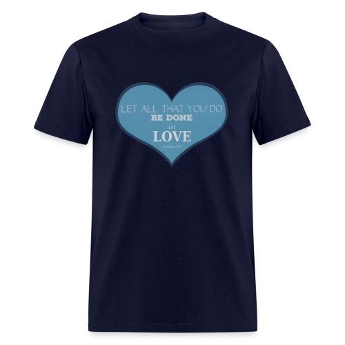 Blue Love T-Shirts - Men's T-Shirt