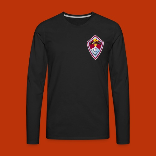Banned In DCD - Men's Premium Long Sleeve T-Shirt
