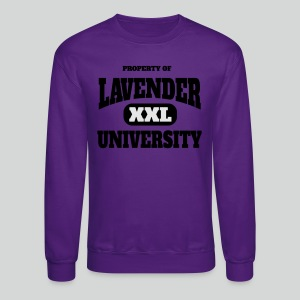 Men's T Shirt: Property of Lavender University XXL - Crewneck Sweatshirt