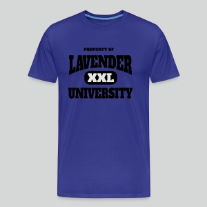 Men's T Shirt: Property of Lavender University XXL - Men's Premium T-Shirt