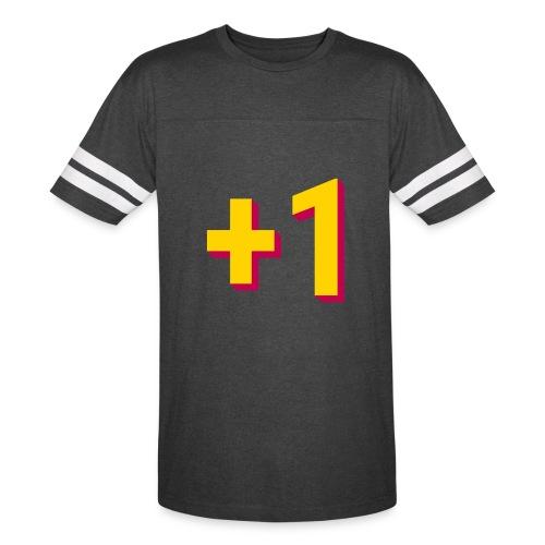 +1 Tee (Mens) - Vintage Sport T-Shirt