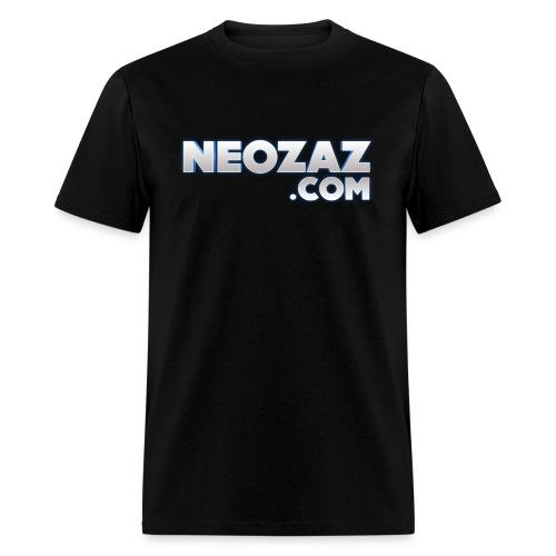 NEOZAZ.com Logo Ringer T-Shirt - Men's T-Shirt
