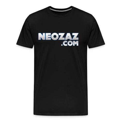 NEOZAZ.com Logo Ringer T-Shirt - Men's Premium T-Shirt