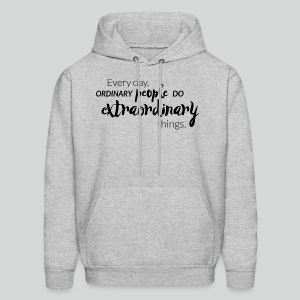 Men's T Shirt: Extraordinary People Do - Men's Hoodie