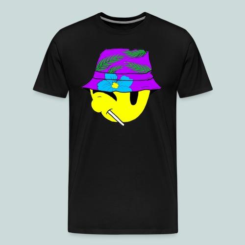 Floral 1's Purple Breeze - Men's Premium T-Shirt