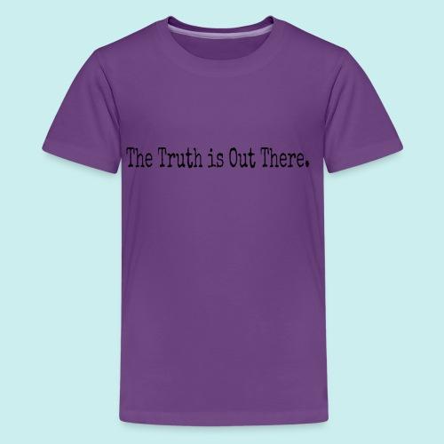 Flower Boy Mulder - Kids' Premium T-Shirt