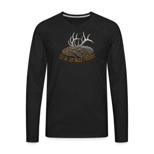 Total Outdoor Pursuit Men's T Shirt - Men's Premium Long Sleeve T-Shirt