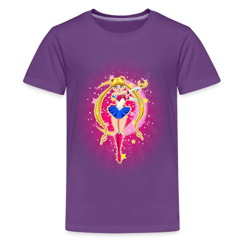 Fighting Evil by Moonlight - Kids' Premium T-Shirt