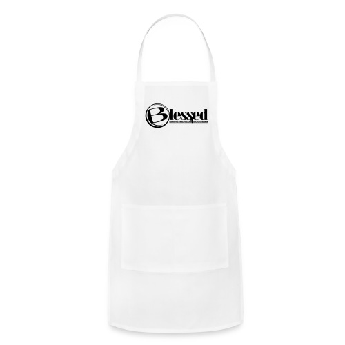Mens Blessed Circle - Light - Adjustable Apron