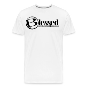 Mens Blessed Circle - Light - Men's Premium T-Shirt