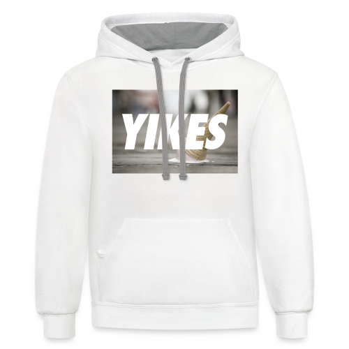 YIKES (made this for a friend who never bought it but hey it's pretty dope.) - Contrast Hoodie