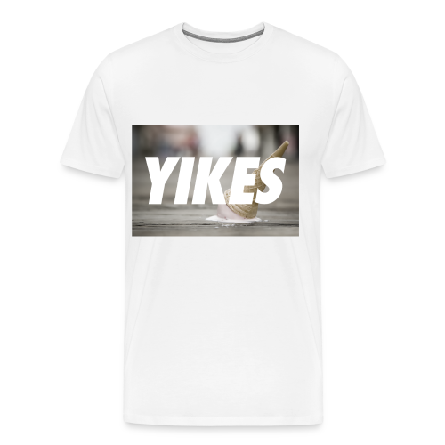 YIKES (made this for a friend who never bought it but hey it's pretty dope.) - Men's Premium T-Shirt