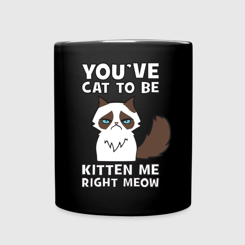 You've Cat To be Kitten Me Right Meow Mugs & Drinkware - Full Color Mug