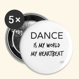 DANCE Is My World T-shirt by Stephanie Lahart  - Small Buttons