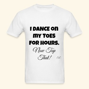 Pointe Ballet Dance T-shirt by Stephanie Lahart  - Men's T-Shirt